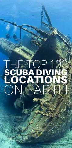 If you are looking for a list of the very best diving in the world, look no further! We have compiled the top 100 scuba diving locations on Earth, and each one is waiting for you to visit and explore. Click to see the whole list for the locations of the b