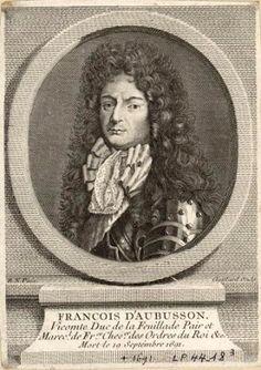 François III d'Aubusson, 6ème. Duc de Roannais, 1er. Duc de La Feuillade, Pair de France (1631-1691).