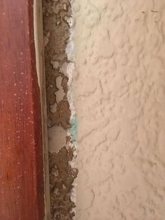 Gold paint hidden under door casing 1947 house - possibly raised bits done in a bone colour? Vintage Paint Colors, Door Casing, Bone Color, Gold Paint, Shag Rug, Brick, Colour, House, Painting