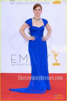 Jane Levy Royal Blue Formal Dress Emmy Awards 2012 Red Carpet