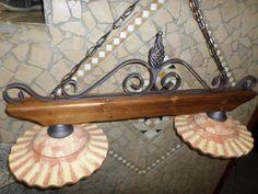 Lampadario Rustico In Ferro Battuto : 73 fantastiche immagini in lampadari in stile rustico country su