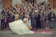Carla and David's wedding at Crown Plaza