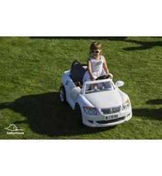 Autko elektryczne dla dzieci dwuosobowe BOOMI białe
