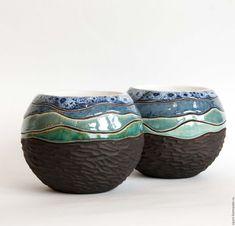 Slab Pottery, Glazes For Pottery, Pottery Mugs, Ceramic Pottery, Pottery Art, Ceramic Clay, Ceramic Bowls, Sculpture Clay, Ceramic Sculptures