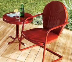 Podemos quedarnos tranquilos respecto de los muebles de jardín, con la protección de Stops Rust.