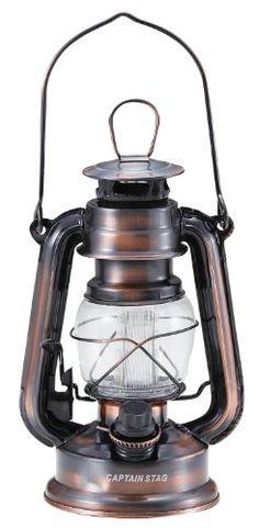 キャプテンスタッグ アンティーク暖色LED ランタン