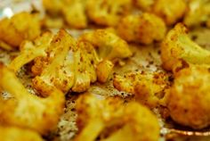 Roasted Curried Cauliflower | Nom Nom Paleo