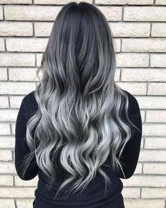 Charcoal hair: 30 razões para você amar esta tendência (FOTOS)