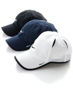 Nike Hat, Dri Fit Feather Light Cap from Macys.com | Shop Macys.com through shop.fuelrewards.com and earn 2X the Fuel Rewards savings!