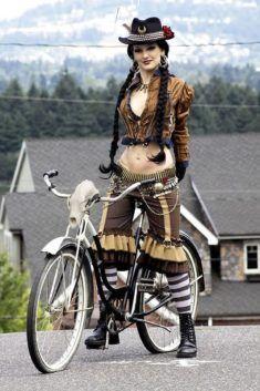 Vélo pour balade avec jolie femme du 69 sur www.velocustom.eu