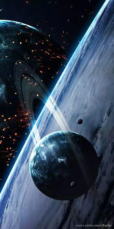 Thor Wallpaper, Wallpaper Earth, Iphone Wallpaper Sky, Planets Wallpaper, Blue Colour Wallpaper, Purple Galaxy Wallpaper, Cosmos, Xiaomi Wallpapers, Galaxy Images