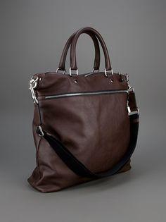 7d04b5552e4 leather tote in brown, DOLCE   GABBANA - tote bag Denim Armband, Messenger  Bag