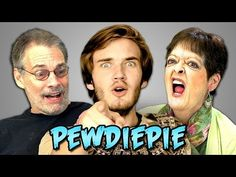 Elders React to PewDiePie, One of the Most Subscribed Stars on YouTube