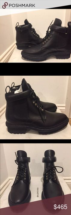 f73f2f8576d1 Spotted while shopping on Poshmark  Balenciaga Unit Ankle Boots BNWT!