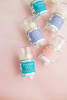 DIY Push-pop Lotion Bars, the kind of favor your Bridal Shower guests actually want!