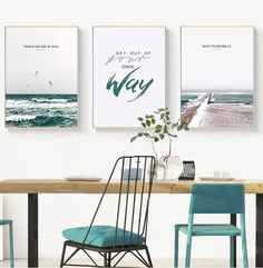 HAOCHU Nordic Modern Ocean Beach Landscape Lighthouse Personality Text Letter Home Decor Wall Picture For Living Room Poster Art. Subcategory: Home Decor. Canvas Poster, Canvas Art Prints, Wall Canvas, Wall Art Prints, Poster Prints, Poster Pictures, Wall Art Pictures, Canvas Painting Landscape, Painting Art