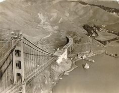 mpdrolet: Aerial View Of Golden Gate Bridge Under...