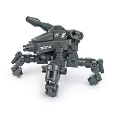 https://flic.kr/p/7n4aTh | Tattaka - Gunner Type | It's been awhile since I've build something on four legs...