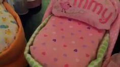 Bassinet Diaper Cakes