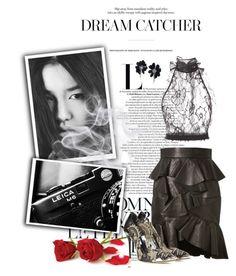 """Dream Catcher"" by jaipickett ❤ liked on Polyvore featuring Été Swim, Lanvin, Balmain, Oscar de la Renta, women's clothing, women's fashion, women, female, woman and misses"