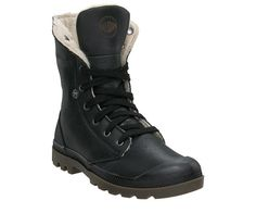 Palladium Baggy Leather S boots, in black pilot.   $140.00