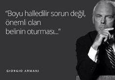 Giorgio Armani famous lyrics Giorgio Armani - More men& clothing designs . Giorgio Armani, Einstein, Comedy Pictures, Nicolas Tesla, Karl Marx, Alzheimer, Famous Words, Calm Down, Darwin