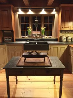 Red kitchen decor sets new model kitchen images,buy modular kitchen cabinets online design my kitchen cabinet layout,farmhouse kitchen design rustic country kitchen pictures. Kitchen Redo, Kitchen Styling, Rustic Kitchen, New Kitchen, Kitchen Ideas, Kitchen Counters, Kitchen Signs, Granite Countertops, Primitive Kitchen Decor