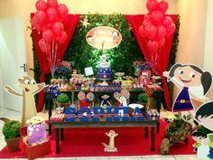Decoração Temática: Show da Luna   Decoração de Festas - (11) 3294-2764