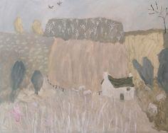 David Pearce Paintings Periwinkle Farm Painting