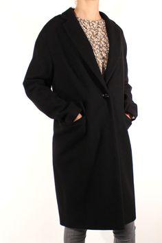 Sessun Harry Coat Black