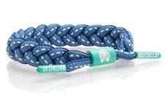 Rastaclat Lace Bracelet - Teal, Navy