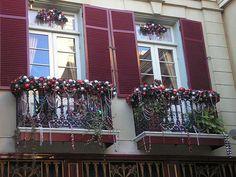 9 best Christmas Balcony images on Pinterest | Balcony, Balconies ...