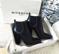 Givenchy studded boots... drooling...