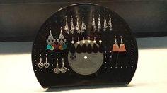 Présentoir à bijoux en vinyl pour boucles d'oreilles : Presentoir, boîtes par mescreas