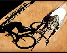 Tour de France Radsport Plakat Illustration von ArtBySassanFilsoof