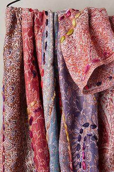 Swirled Stitch Scarf - anthropologie.com