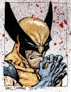 Wolverine 12 - by Gary Shipman