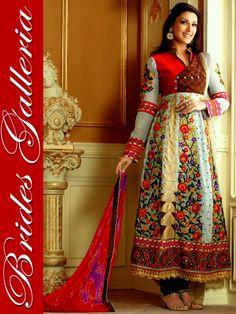 Elegant Designer Anarkali Suit Elegant Designer Anarkali Suit [BGSU 13630] - 862NKr : Punjabi Suit, Designer Sarees , Anarkali Suit, Salwar Kameez, Bridal lehenga Choli, Churidar Kameez, Anarkali Suit, Punjabi Suit Designer Indian Saree, Wedding Lehenga Choli
