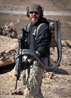 Predator-like backpack belt feed