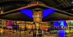 Usaf Museum Photograph - Spirit Bomber B-2 by Tommy Anderson