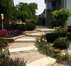 Image Detail for - ... Natural Stone Steps | Brick Paver Landings | APL Landscape Soluti