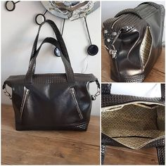 Emilie DA SILVA sur Instagram: Sac Java de @patrons_sacotin en simili cuir #couture #sacôtin #celuilailestpourmoi #merceriedescreateurs