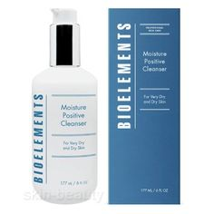 Bioelements Moisture Positive Cleanser, 6 oz -Bioelements Moisture Positive Cleanser is an emollient cleansing lotion that gently washes skin while protecting the skin's natural oils.