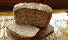 Cottage Rye Bread, baked with Honey, Wiejski chleb żytni na miodzie, Homemade Bread, Domowy chleb, Domowe pieczywo