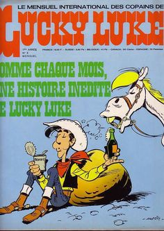 Le Mensuel International Copains De Lucky Luke N°5