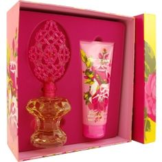 Betsey Johnson  3.4 oz EDP Perfume GIFT SET By Betsey Johnson for Women