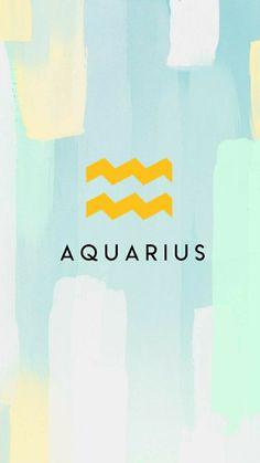Wallpaper/Lockscreen Zodiac Aquarius ♒️ 21 January - 19 February