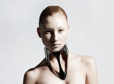 Ana Rajcevic    Nickel silver metal collar (2011)