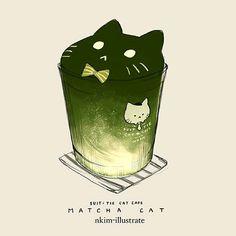 Matcha Cat
