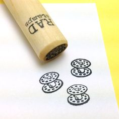 Sewing+Bobbin+mini+Rubber+Stamp+by+RADstamps+on+Etsy,+$3.40